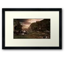 The Punishment Of Mankind Framed Print