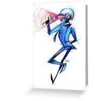 Tomas Bangalter Greeting Card