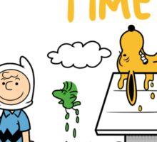 Peanuts time Sticker