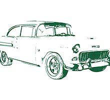1955 Chevrolet Bel Air by surgedesigns