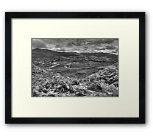 Autumn in Lake District Framed Print