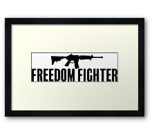 Freedom Fighter Framed Print