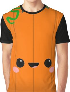 Poomi the Kawaii Pumpkin Graphic T-Shirt