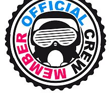 Official Crew Member Stempel Logo by Style-O-Mat