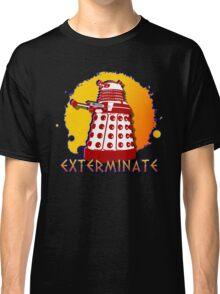 Doctor Who: Exterminate Dalek Art Classic T-Shirt