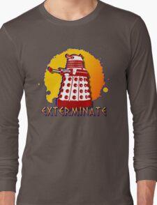 Doctor Who: Exterminate Dalek Art Long Sleeve T-Shirt
