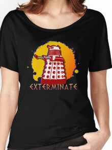 Doctor Who: Exterminate Dalek Art Women's Relaxed Fit T-Shirt