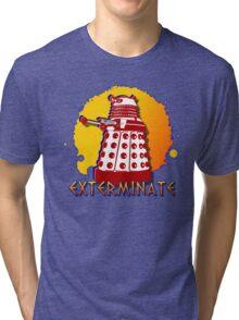 Doctor Who: Exterminate Dalek Art Tri-blend T-Shirt