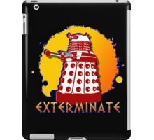 Doctor Who: Exterminate Dalek Art iPad Case/Skin