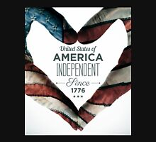 United States of America Independent Since 1776 Unisex T-Shirt