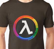 Half Life Logo (Rainbow) Unisex T-Shirt