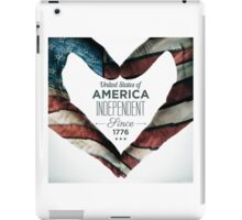 United States of America Independent Since 1776 iPad Case/Skin