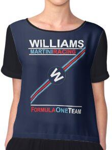 F1 Williams Martini Racing Chiffon Top