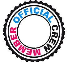 Official Crew Member Stempel by Style-O-Mat