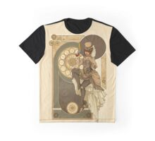 Steampunk Nouveau  Graphic T-Shirt