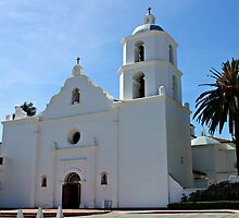 Old Mission San Luis Rey by Murad Abel