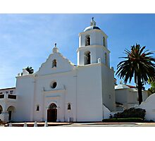 Old Mission San Luis Rey Photographic Print