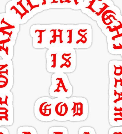 ULTRALIGHT BEAM Sticker