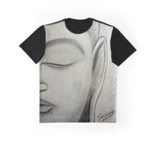 Buddha Face Graphic T-Shirt