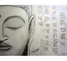 Buddha Face Photographic Print
