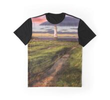 Perch Rock Lighthouse Sunset Graphic T-Shirt