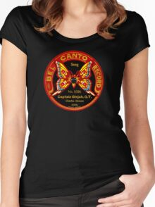 Bel canto 1920 78rpm label gramophone! Women's Fitted Scoop T-Shirt