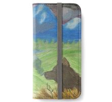 Lone Wolf of the Mountains iPhone Wallet/Case/Skin