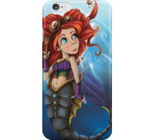 Steampunk Little Mermaid iPhone Case/Skin