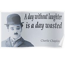 Charlie Says Laugh Poster