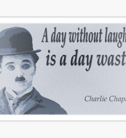 Charlie Says Laugh Sticker
