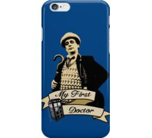 My first Doctor (Who) seventh 7th Sylvester McCoy iPhone Case/Skin