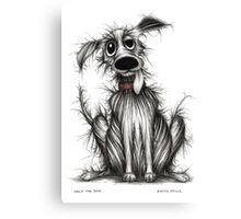 Ugly the dog Canvas Print