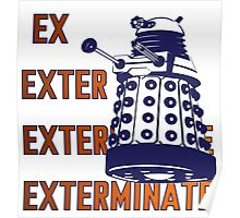 Doctor Who: Ex Exterminate Dalek Poster
