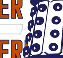 Doctor Who: Ex Exterminate Dalek Sticker