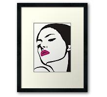 Unidentified Female Object (Clean) Framed Print