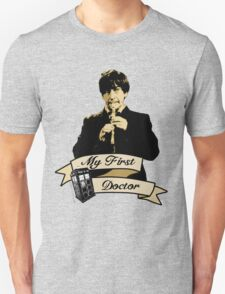 My first Doctor (Who) Second 2nd Patrick Troughton T-Shirt