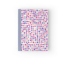Confetti Party Blue cover Hardcover Journal