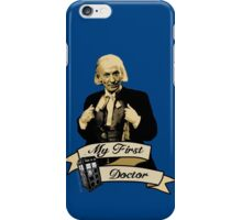 My first Doctor (Who) First 1st William Hartnell iPhone Case/Skin