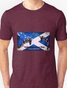 scottish independence Unisex T-Shirt