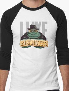 I like bit Hutts Men's Baseball ¾ T-Shirt
