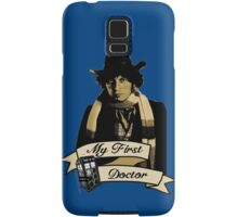 My first Doctor (Who) Fourth 4th Tom Baker Samsung Galaxy Case/Skin