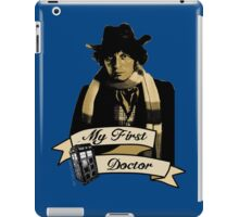 My first Doctor (Who) Fourth 4th Tom Baker iPad Case/Skin