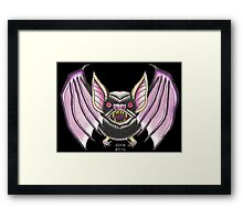 GONE BATTY Framed Print