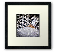 { Corners: where the walls meet #07 } Framed Print