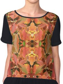 Burning Leaf Chiffon Top