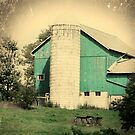 Old Blue Barn by gothicolors