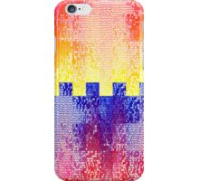 Colorful Crossing Squares iPhone Case/Skin