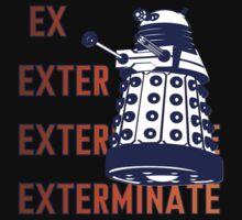 Doctor Who: Ex Exterminate Dalek Kids Tee