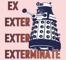 Doctor Who: Ex Exterminate Dalek One Piece - Short Sleeve