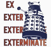 Doctor Who: Ex Exterminate Dalek Kids Tee